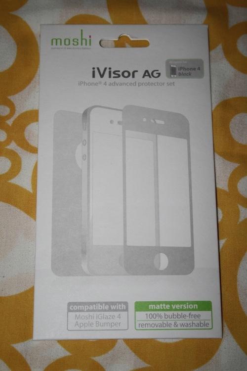Recensione Moshi iVisor AG per iPhone 4