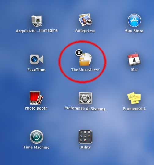 OS X Lion, impossibile cancellare le applicazioni native