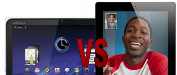 motorola Xoom vs ipad 2