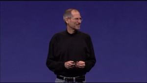 Smiling Steve Jobs