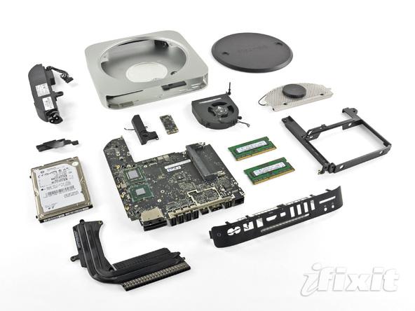 iFixit smonta anche il nuovo Mac Mini 2011