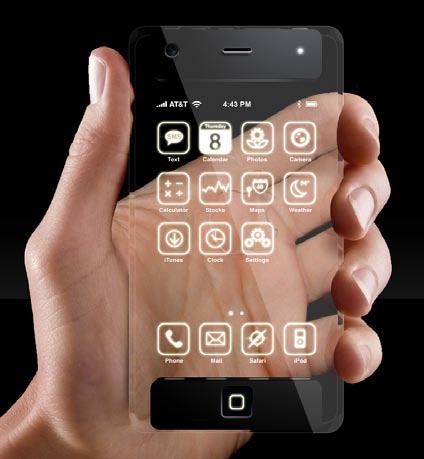 iphone trasparente