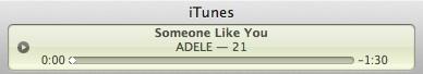 anteprima delle canzone di iTunes a 90 secondi