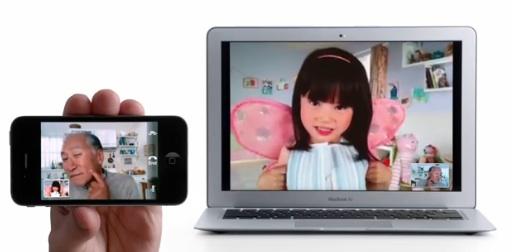 Facetime iPhone 4 macbook air