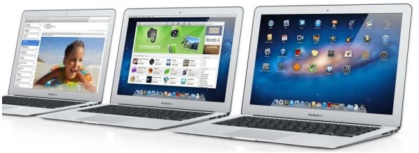 Apple spedisce in poche ore 500.000 MacBook Air 2011