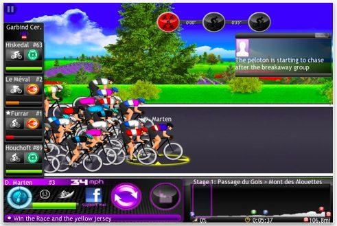 Tour de France 2011 iphone