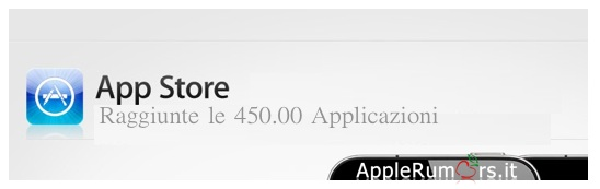 app store 450 mila app