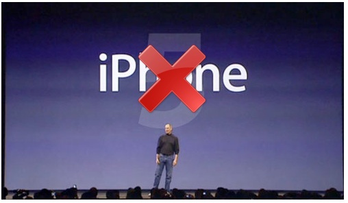 no iphone 5 in settembre