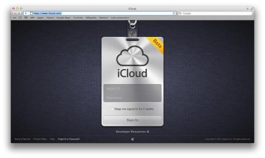 Il dominio iCloud è online e ci sono i prezzi per aggiungere spazio!