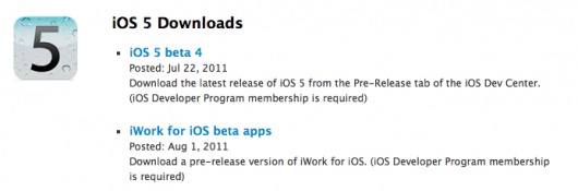 Apple rilascia iWorks beta per iOS e iPhoto 9.2 beta 2 per Mac