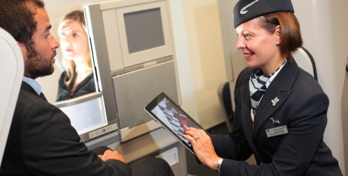iPad sui voli British Airways