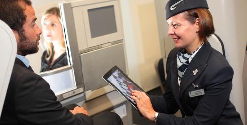 iPad sui voli British Airways