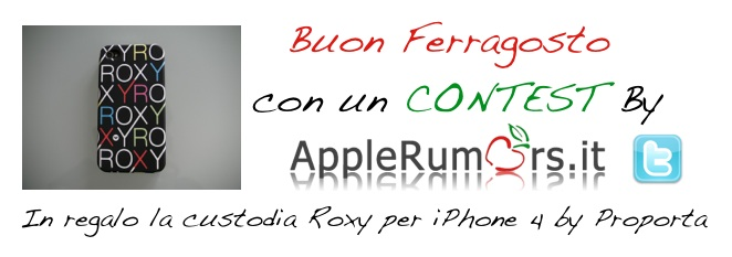 Festeggia il Ferragosto con AppleRumors, in palio una custodia iPhone 4 by Proporta (Vincitore)
