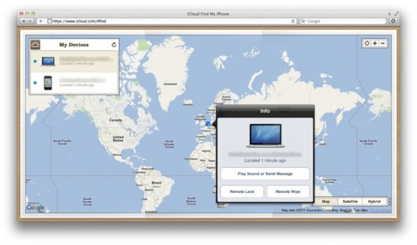 In arrivo Find my Mac con iCloud!
