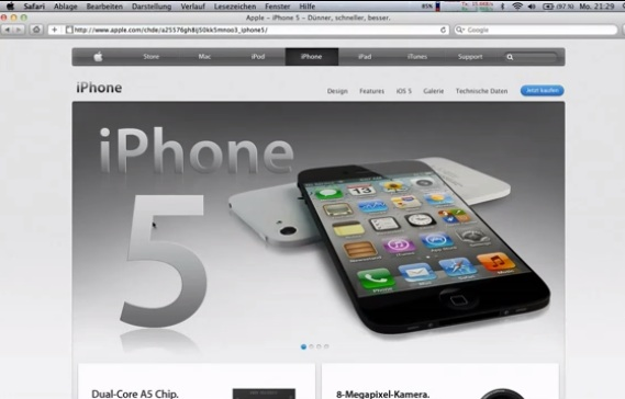 iphone 5 apple.com