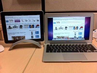 macbook air vs ipad