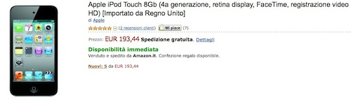 amazon ipod touch