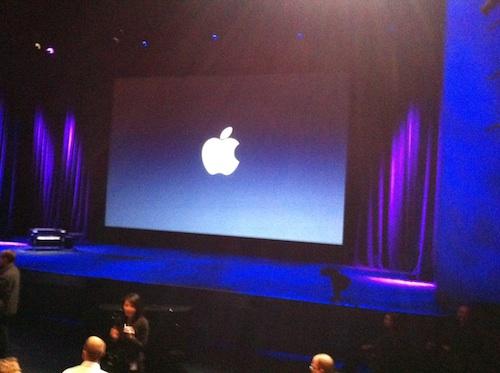 evento apple palco