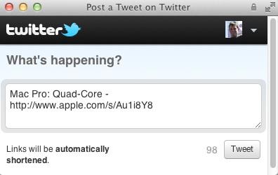 twitter in apple store
