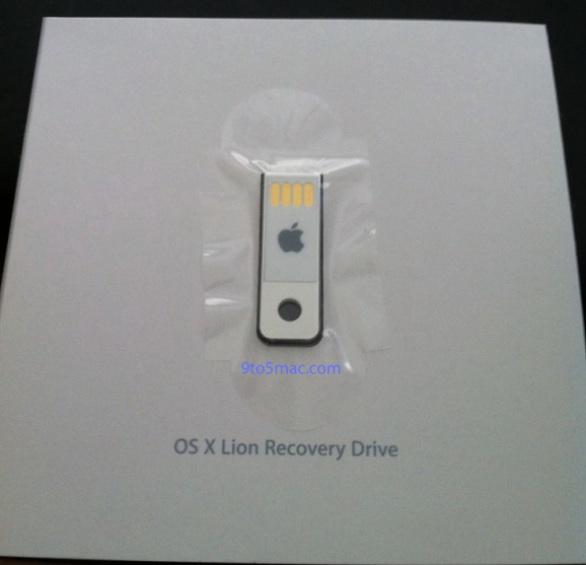 Arrivano le prime penne USB con Mac OS X Lion