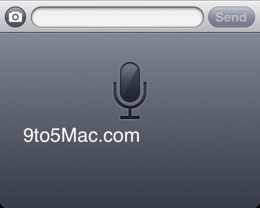 riconoscimento vocale di Apple