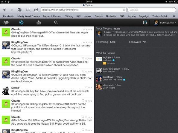 In arrivo a breve la versione web di Twitter ottimizzata per iPad