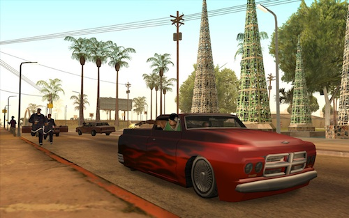 Grand Theft Auto Sant'Andreas sul Mac App Store