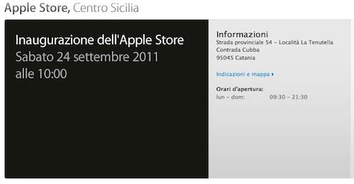 apple store catania