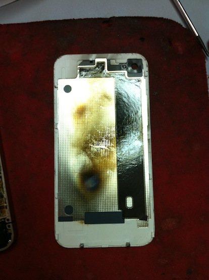 iphone 4 bianco esploso