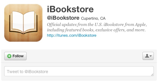 twitter ibook store