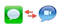 iMessage OS X Lion