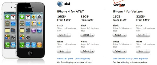 Aumentano i tempi di spedizione per l'iPhone 4, nuovo iPhone più vicino