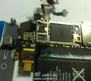 componenti dell'iphone 5