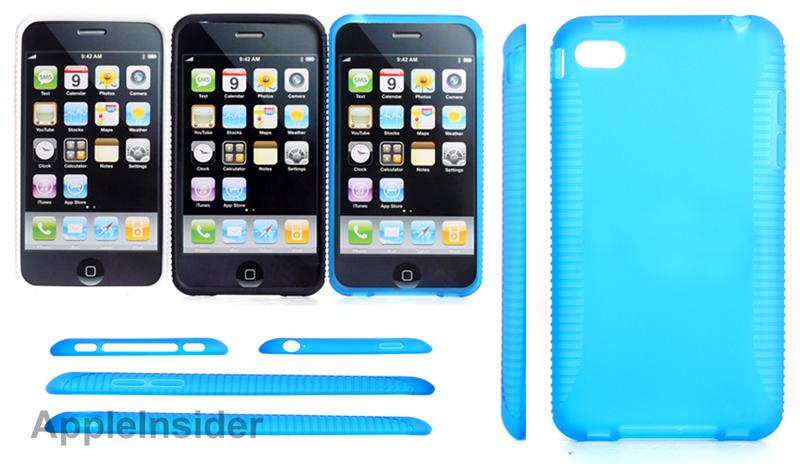 Altre custodie confermano il design di iPhone 5