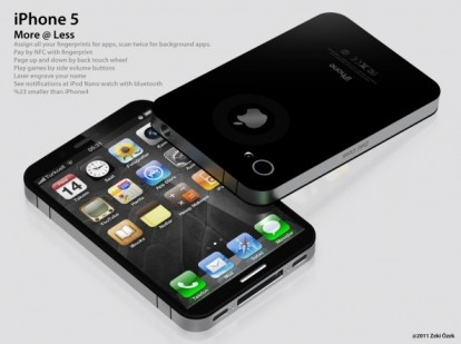 iPhone 5 nano in un nuovo concept