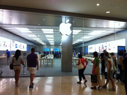apple store campania
