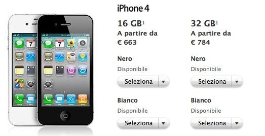 nuovi prezzi IVA apple