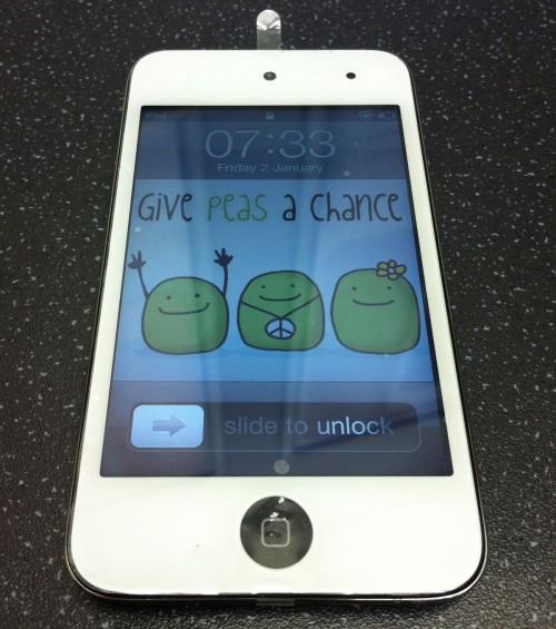 Apple sta per rilasciare un iPod touch bianco con lievi modifiche