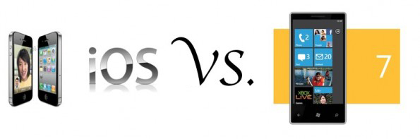 Windows phone 7 vs ios
