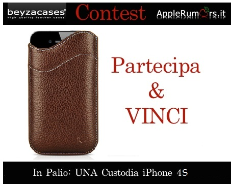 CONTEST: AppleRumors e Beyzacases regalano una custodia in pelle per iPhone 4S