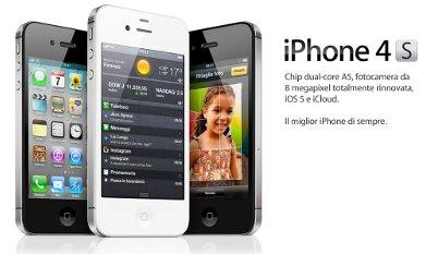 Apple e i problemi di batteria dell'iPhone 4S