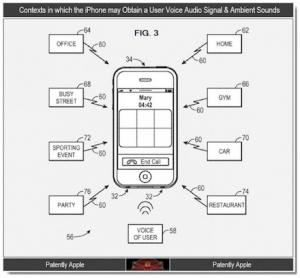 brevetto riduzione rumori apple
