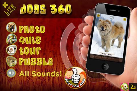 applicazione iphone dogs 360