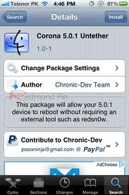 Passare dal Jailbreak Tethered all'Untethered senza usare il PC