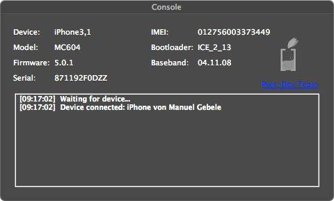 Ac1dSn0w: il tool per il jalibreak tethered di iOS 5