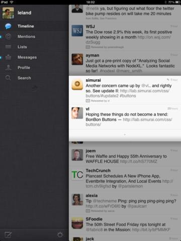 Twitter per iPhone si aggiorna alla versione 4.0