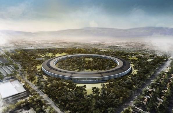 Modificati e terminati i progetti del nuovo Campus di Apple