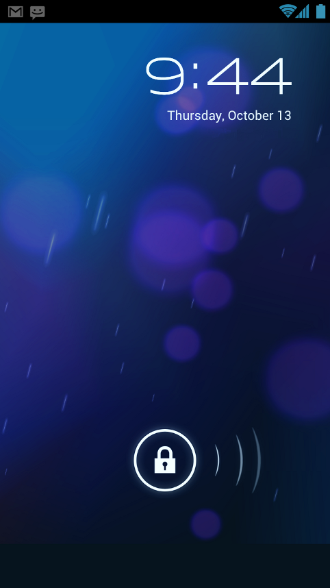 lockscreen ios 6.1