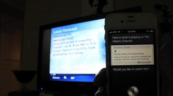 Controllare una Tv con Siri