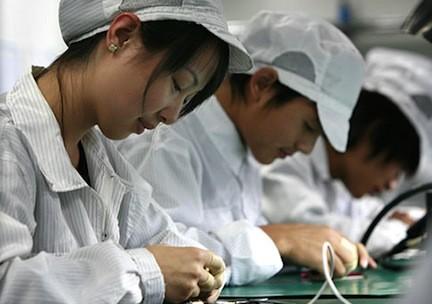 fabbrica produzione apple